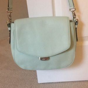 Mint green Kate Spade crossbody